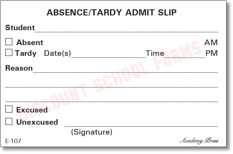 tardiness high school and students When students are tardy, they must present to the office a written excuse signed by their parents  middle or high school students will receive a detention for .