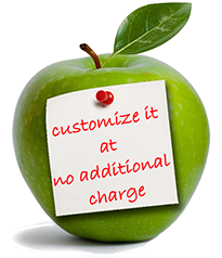 Free customization of all school forms